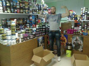 Магазин спортивного питания «Monstersfood» на Октябрьском проспекте