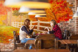 Кафе быстрого питания «Сковородка» на площади Гагарина